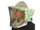 Сетка лицевая защитная (двунитка, цветная ткань)
